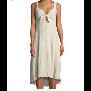 ❌NWT❌ Front Tie Linen Dress